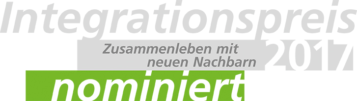 Für den Integrationspreis 2017 nominiert
